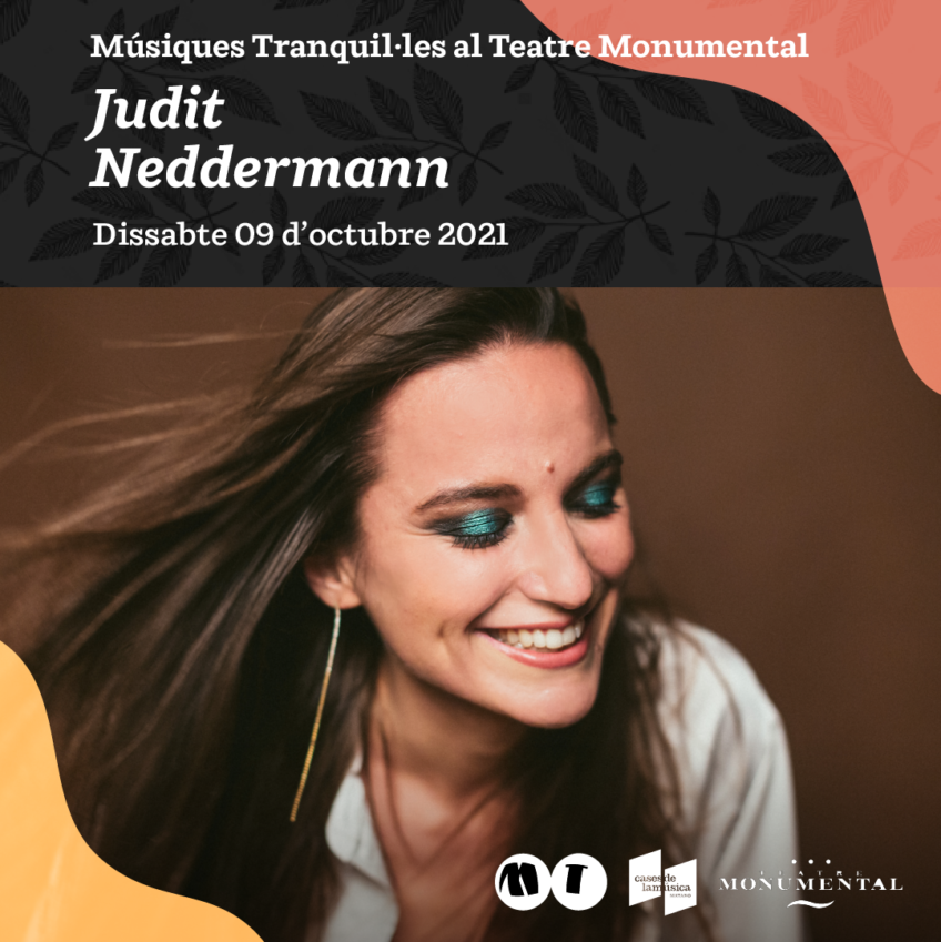Judit Neddermann al Teatre Monumental
